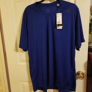 Adidas, Short sleeve, t-shirt, blue, size,2XL, NWT